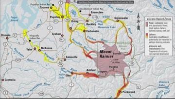 Volcanic hazards at Mount Rainier