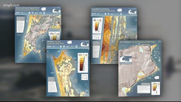 New tsunami evacuation maps released for the northwest