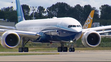 Boeing 777X stress test suspended due to 'issue'