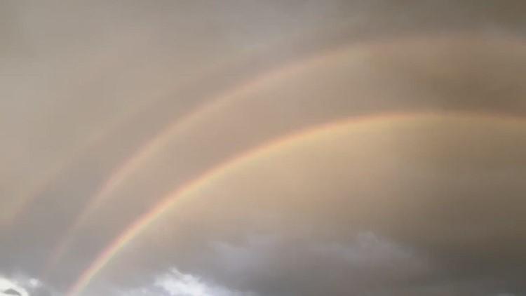 Better video of quad rainbow