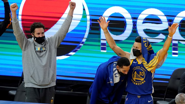 Klay Thompson finding new ways to move through another rehab