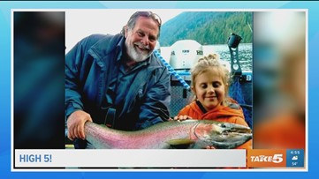 8-year-old breaks Idaho record with 36.5-inch rainbow trout