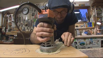 Kitsap County ukulele maker's life took a musical turn in an unlikely place