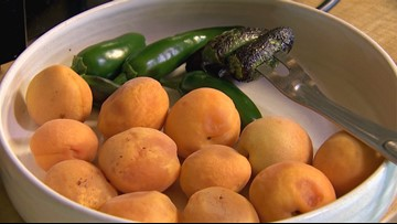 Chef Tom Douglas demonstrates what you can do to save overripe apricots