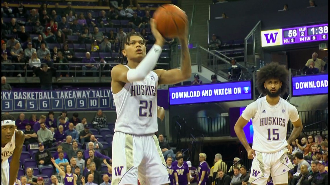 UW Athlete becomes first Tulalip tribe member to earn a Division 1 basketball scholarship - KING 5 Evening