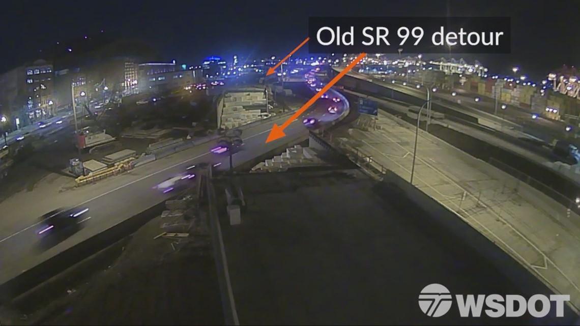 Timelapse: Construction of SR 99 off-ramp to SODO