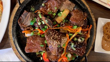 Have a Korean food feast at Red Stone Tofu House in Federal Way