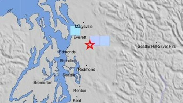 3.0 earthquake struck today in same area as 4.6 quake in Monroe last Friday