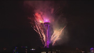 2018/2019 New Years at the Needle, Full Episode KING 5 Evening