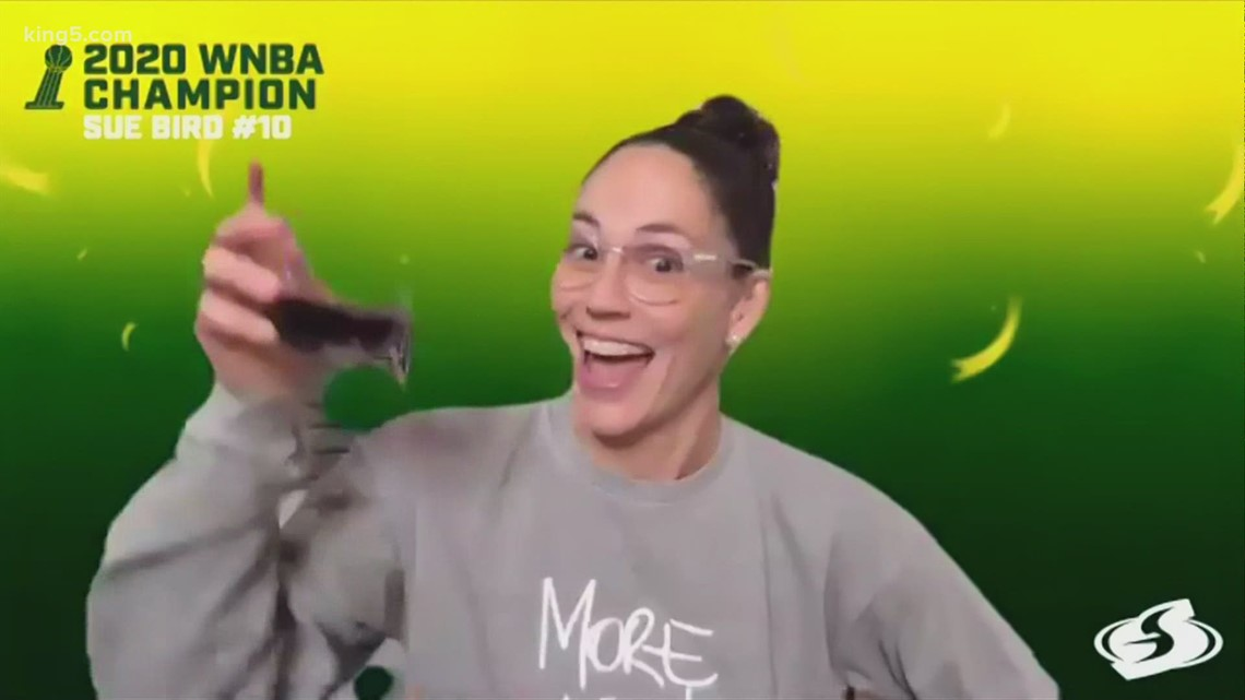 Seattle Storm celebrate WNBA Championship with virtual rally on Friday