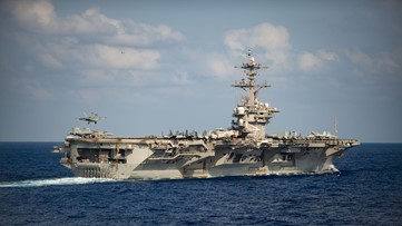 Sailors cheer for ousted Navy captain who sounded alarm on coronavirus outbreak