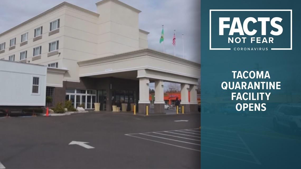 Tacoma self-quarantine facility opens