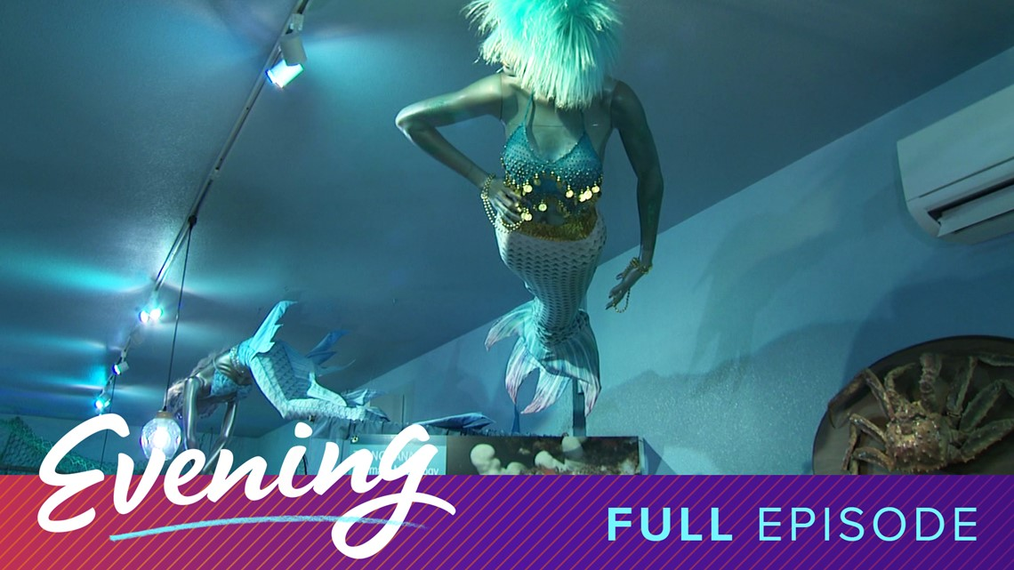 The International Mermaid Museum in Westport & The Spring Fair in Puyallup!   Full Episode - KING 5 Evening