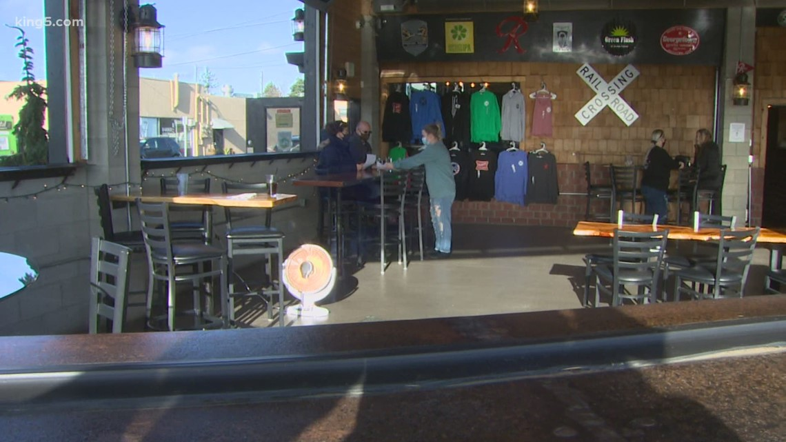 Washington opens window to indoor dining with new 'open-air' rules - KING5.com