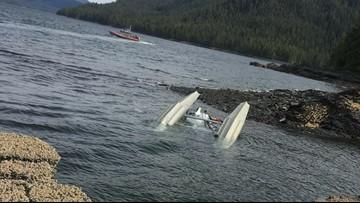 Pilot saw flash just before Alaska floatplane crash, report finds