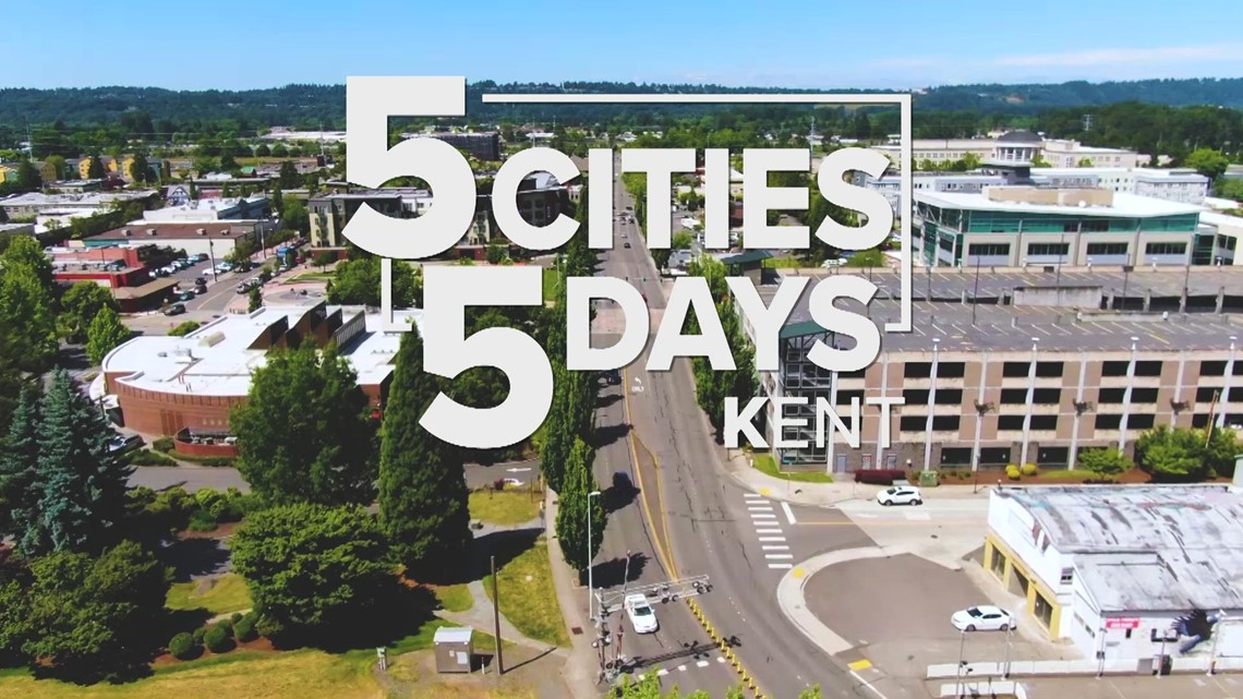 5 Cities in 5 Days: Kent from above