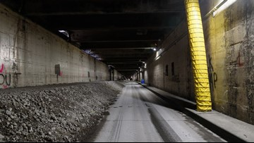 Filling-in of Battery Street Tunnel to accelerate next week