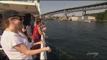 Sip and savor aboard Argosy Cruises' Lake Union wine tasting tour - KING 5 Evening