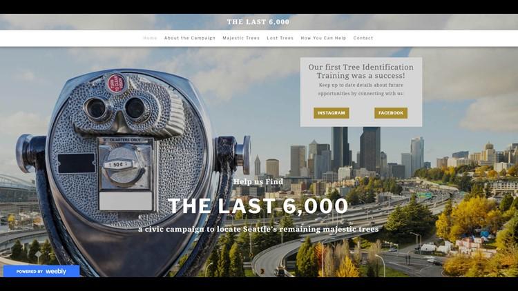 The Last 6000 Webpage
