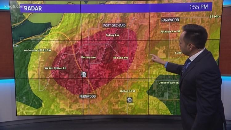Weather Port Orchard Tornado On The Radar King5 Com
