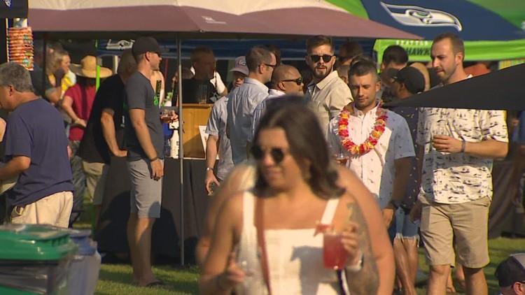 Kirkland's Summerfest attracts hundreds amid pandemic uncertainty