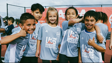 This free program uses Soccer as a tool to promote healthy lifestyles for kids