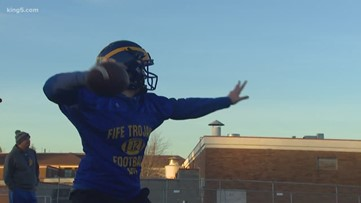 Prep Zone: Female quarterback makes history in Fife with touchdown pass