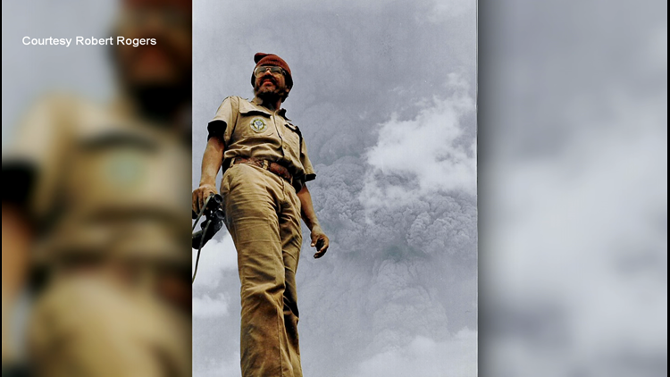 First day of work on Mount St. Helens was a literal blast for this man