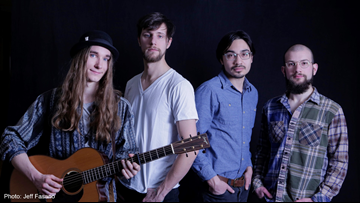 Winner of The Voice Sawyer Fredericks promotes his new album 'Hide Your Ghost'