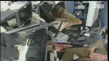 Raw: 2001 Nisqually earthquake footage
