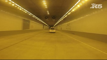Drive through the new SR 99 tunnel in Seattle