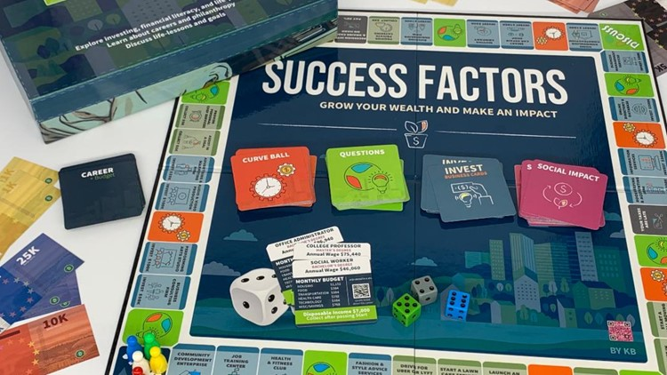 Tacoma family creates board game to tackle financial literacy