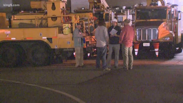 Seattle City Light Crews Headed To Northern California