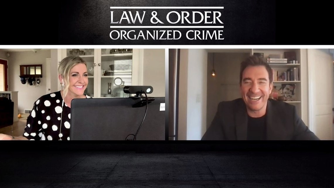 Dylan McDermott dishes on being a 'super criminal' in 'Law & Order: Organized Crime'