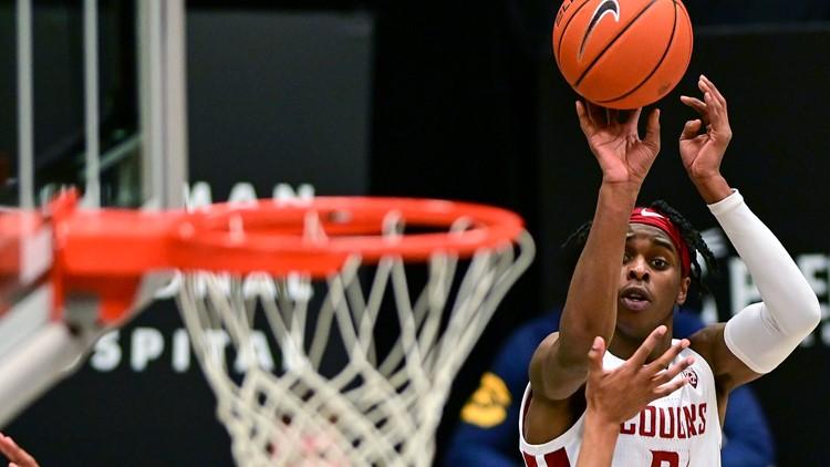 Williams career-high 32 sparks WSU to romp over Cal 82-51