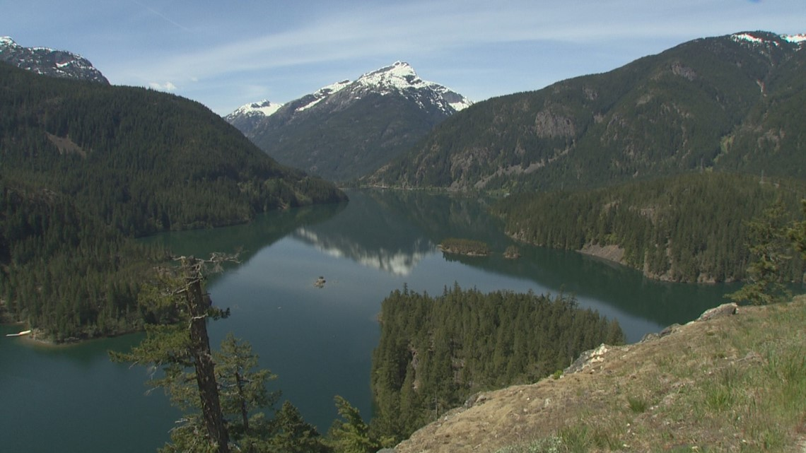North Cascades puts the 'Scenic' in 'Scenic Highway' - KING 5 Evening
