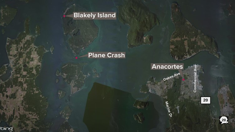Two people survive plane crash south of Blakely Island