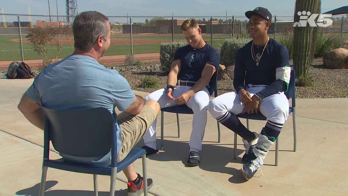 Mariners prospects Jarred Kelenic and Julio Rodriguez on their rising stardom and friendship
