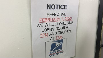 Another Seattle post office to close lobby overnight amid homeless concerns