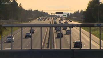 I-5 near JBLM reduced to a single lane overnight starting Monday