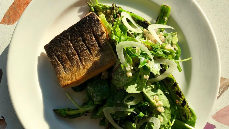 Champagne Diner Arctic Char