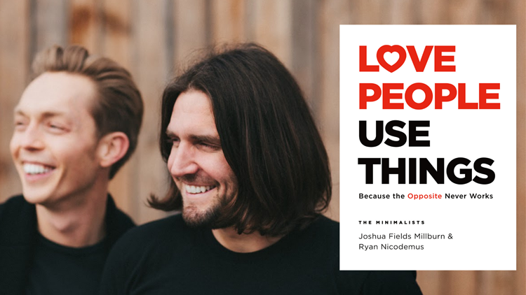 The Minimalists share what minimalism means to them, discuss new book