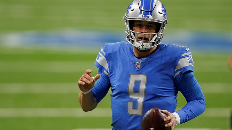 Lions trade Stafford to LA for Goff, draft picks