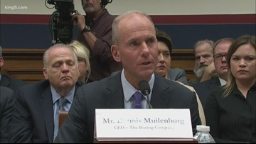 Rep. Rick Larsen reacts to Senate testimony from Boeing CEO over deadly Max crashes