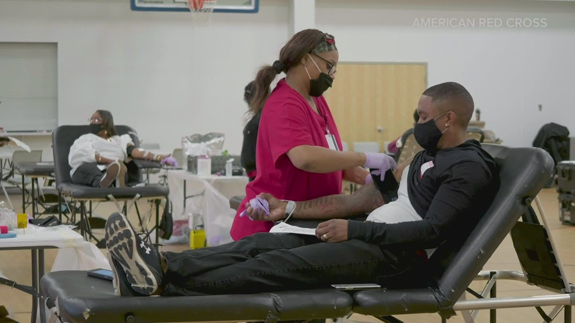 American Red Cross says blood supply is severely short