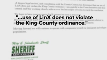 King County Sheriff's Office rejoined national database after concerns over ICE access