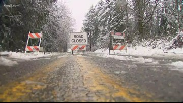 Snowstorm slams Kitsap County, knocking out power to thousands