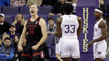 Huskies drop 9th straight, losing to Stanford 72-64
