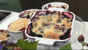 This Blackberry Cobbler recipe from Seattle's Matt's in the Market will sweeten your summer - New Day Northwest
