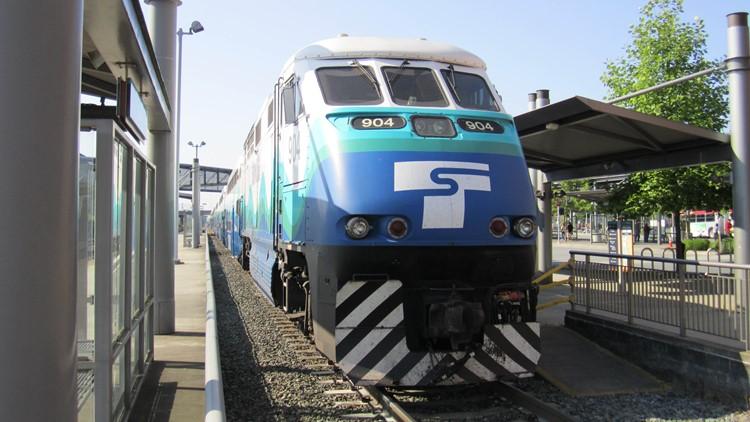 sounder train in everett